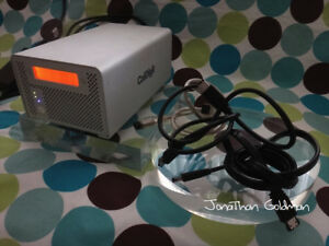 CalDigit VR 20TB 20-Terabyte Dual-Bay RAID Drive Mac PC FW800 USB 2.0 eSATA RARE