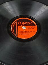 ATLANTIC 1030 LaVern Baker LIVING MY LIFE FOR YOU/CAN'T HOLD OUT 10 inch 78 V+