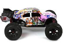 Custom Buggy Body Graffiti Pig for ARRMA 1/8 Kraton 6S BLX Truck Car Cover Shell