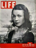 Life Magazine July 29 1946 Vivien Leigh Cover Photo Communist Party Ted Williams