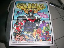 """AFFICHE CINEMA ORIGINALE 40x60 *GOLDORAK""""1979"""