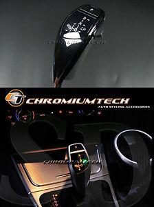 BMW E89 E90 E91 E84 E87 Black LED Shift Gear Stick shift Knob for RHD models