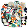 100 Cute Skateboard Stickers bomb Vinyl Laptop Luggage Decals Dope Sticker Lot