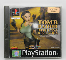 RAIDER DELLA TOMBA THE ULTIMA RIVELAZIONE PS1 PLAYSTATION PSX PS PAL- SPAGNA