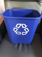 Rubbermaid Bin Trash Can Garbage Recycling Waste Recycle Gallon 7 Gallon