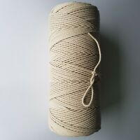 Cotton Cord 1.8 mm//100 m Twisted Cord for Crafts Macrame from the Manufacturer