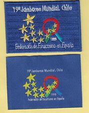 Boy Scout Badges 19 WORLD JAMBOREE SPAIN Participant+fundraiser