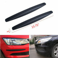 Car Bumper Corner Protector Guard Cover Rubber Sticker Protector Accessories 2pc