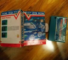 Space Trouble HAL MSX ROM Cartridge Game