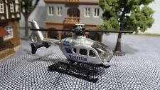Spur N | Hubschrauber Polizei 1:160 mit Motor | Helicopter mit Unterflurantrieb