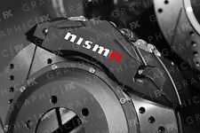 x6 Premium NIssan Nismo Logo Vinyl Brake Caliper Decals - Stickers