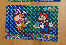 SUPER MARIO WORLD BANPRESTO CARDDASS CARD PRISM CARTE 13 NITENDO JAPAN 1993 **