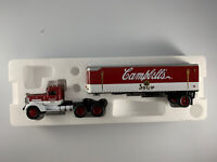 Matchbox Collectibles Campbell's Soup 1939 Peterbilt Tractor Trailer 1:58 in Box