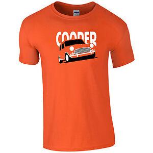 Lumipix Mini Cooper Classic Mens T-Shirt