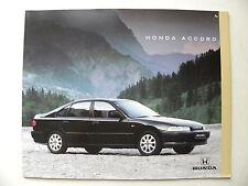 Catalogue / brochure HONDA Accord