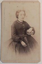 Mme Chavanne par Gay photographe Lyon Carte de visite Cdv Vintage Albumine