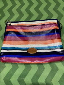Fossil Keyper Moonstone Tablet Sleeve 10.5 x 8.5 Multi-color Coated Canvas