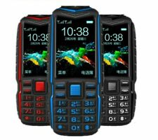 Mobile Phone Power Bank Outdoor Shockproof 2.4in Dual Flashlight Rugge Cellphone