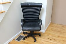 i4 Mariani Leather Modern Office Chair for Pace Desk Made in Italy