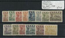 Nauru 1924-48 SG.26a-39a M/M