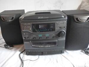 Stereoanlage Universum Kompakt CD Radio Kassetten Boxen gebraucht Bastler