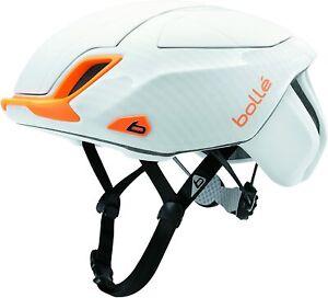 Bolle Premium The One White/Orange Large 58-62cm Bicycle Helmet