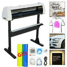 "28"" Vinyl Cutter Plotter Kit Decals Sign Cutting Machine + Design/Cut Software"