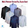 Men's Formal Office Button Down Collar UNEEK Pinpoint Oxford Full Sleeve Shirt
