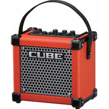 Roland MICRO CUBE GX Red Battery / AC Powered Ultra-compact Guitar Amp , New!