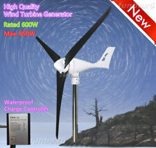 24V/600W Wind Turbine Generator Windmill+Waterproof controller+CFRP blades New