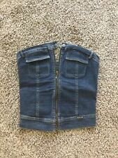 PLEIN SUD DENIM JEAN TUBE TOP 42 or 10