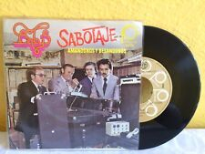 "BABY'S SABOTAJE-AMÁNDONOS Y BESANDONOS MEXICAN 7"" SINGLE PS ROCK EN ESPAÑOL"