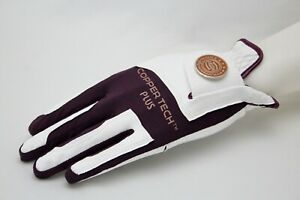 COPPERTECH Plus Woman's Golf Gloves ONE Size FIT Most Worn ON Left Hand