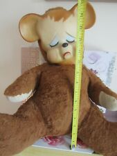 "Vintage Knickerbocker Pouting Bear 15"""