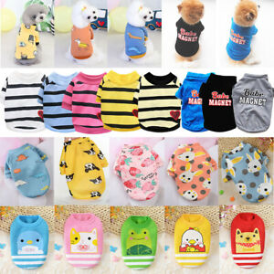 Puppy Small Dogs Clothes T Shirt Chihuahua Pet Fleece Warm Sweater Fall Winter