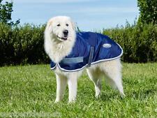 Weatherbeeta Windbreaker 420D Dog Rug Coat Navy/Grey/White Showerproof
