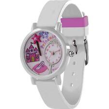 Tikkers Girls White Princess 3D Analogue Dial Display Quartz Watch Gift Set