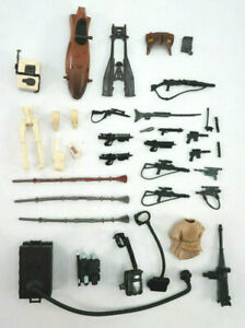 Star Wars Action Figure Accesories Lot Guns Backpacks Clothes Parts Replacement