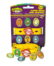Multi-Food Allergy Bracelet Kit Original Allermates Band Peanut Nut Wheat Charms