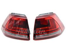 Volkswagen Golf MK7 Dark Rear Tail Light In Panel Right & Left Side OEM NEW
