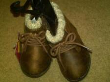 NWT INFANT BOYS BROWN WINTER BOOTS GARANIMALS LIKE GROWNS UPS AND DAD SIZE 3