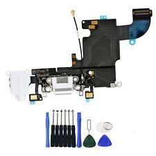 OEM For iPhone 6S 4.7 Charging Port Charger Dock Headphone MIC Flex Cable White
