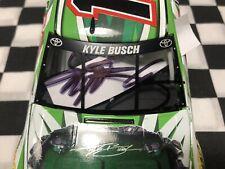 2016 Kyle Busch 1/24 Autographed Interstate Battery