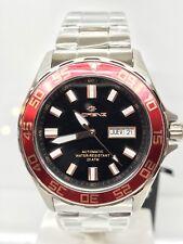 Orologio Lorenz Sub Diver Automatico Wr200m Acciaio Rosso Scontatissimo Nuovo