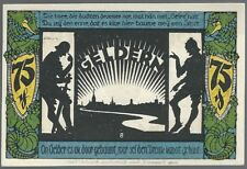 Notgeld - Stadt Geldern - 75 Pfennig - 1921 - Motiv 8