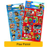 PAW PATROL Fun Foil Stickers - Birthday Christmas Xmas Gift Stationery Colouring