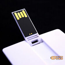 100PCS 128MB Credit Card Memory Flash USB Drives Suit for Customized Logo