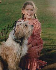 Melissa Gilbert signed Little House on the Prairie TV series photo