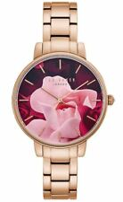 Ted Baker - TE50005001 - Brand New Boxed - RRP £165 - Gold Floral Watch
