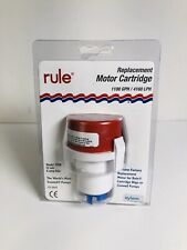 Rule Marine 27DR Replacement Motor Cartridge For Bilge Or Livewell Pumps